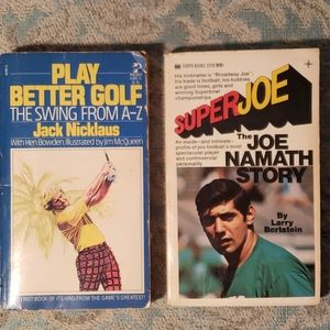Sports Legends paperbacks